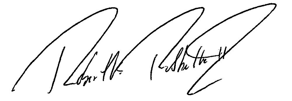 Robert Rubbelke signature